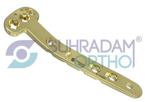 "3.5mm LCP-VA Medial Proximal Tibia Plate ""T"" Type"