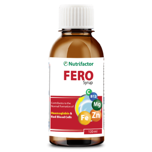 FERO SYRUP | Vitamin B12 | C | Iron | Folic acid