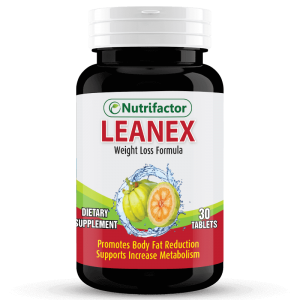 LEANEX | Garcinia Cambogia | Green Tea | Ginger Root | Chromium