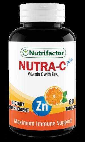 NUTRA-C Plus   60   Vitamin C   Zinc