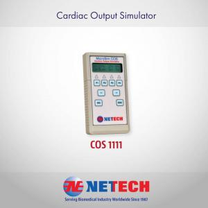 The MicroSim Cardiac Output Simulator is a standalone instrument designed to simulate true cardiac output waveforms, which will help you ensure your devices are working the way they should be.