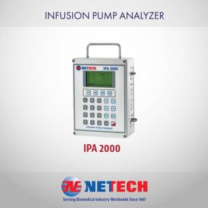 The IPA 2000 Infusion Pump Analyzer is a versatile, rugged instrument designed to test all types of Infusion Pumps accurately through Netech's patented technology.