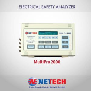 this instrument specifically tests wall outlet polarity and measures line voltage, chassis resistance, chassis leakage current, and lead leakage current. It also performs lead isolation testing and point-to-point testing. Calibrated test points are readily available for verifying its performance.