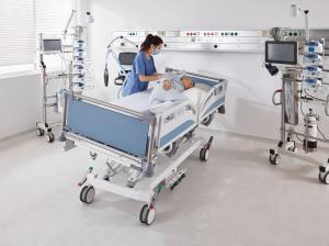 Sicuro tera ICU bed by Stiegelmeyer