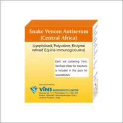 Snake Venom Antiserum echis ocellatus